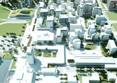 Tapiola center development project
